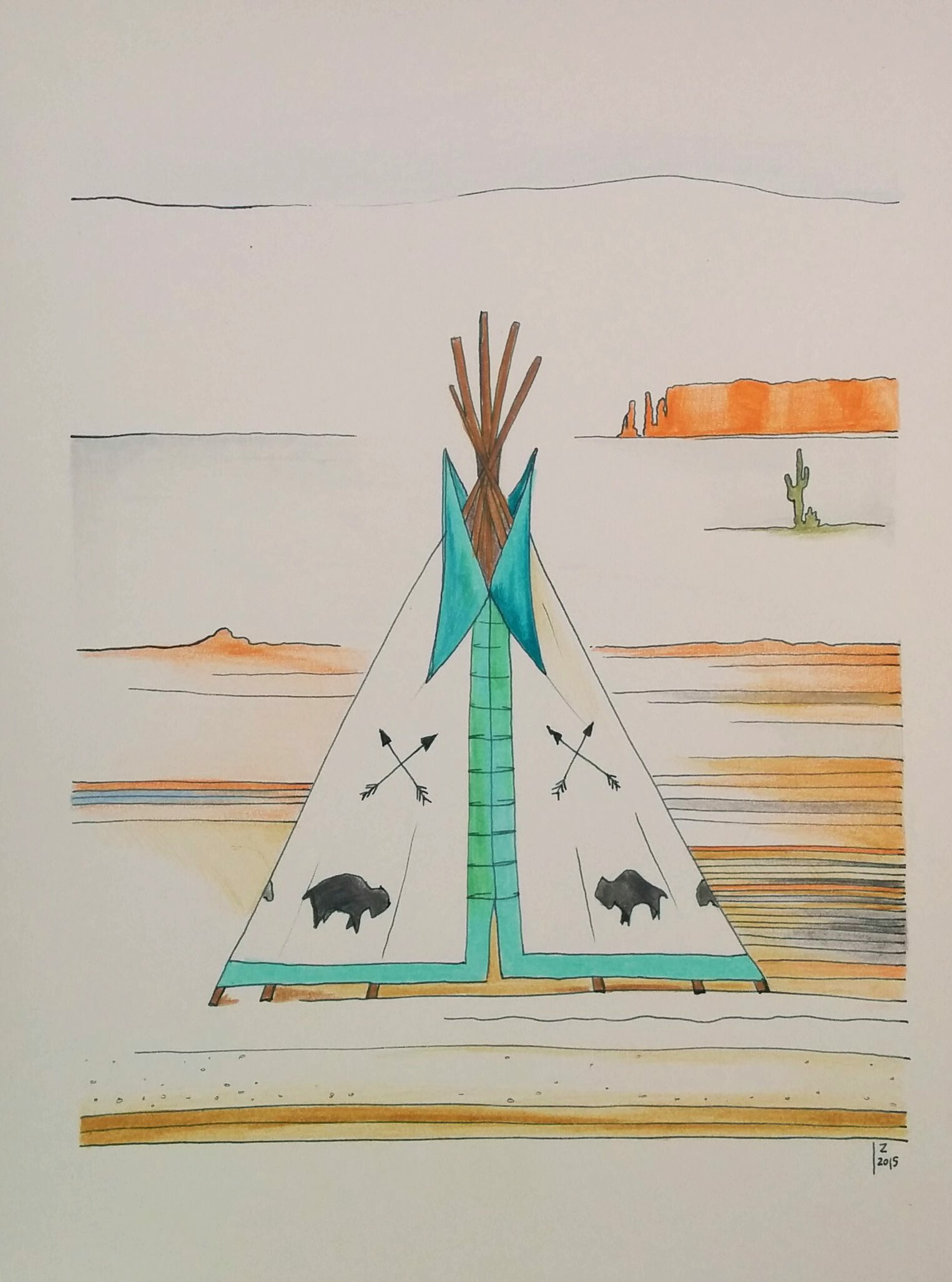 teepee in sedona